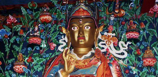 Guru Rinpoché - Monasterio RigonTashi Choeling (Dollu Pharping, Nepal)